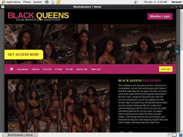 Black Queens XXX Passwords