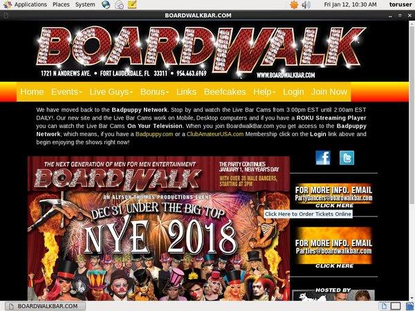 Get Into Boardwalkbar