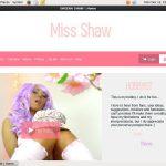 SHEENA SHAW Site