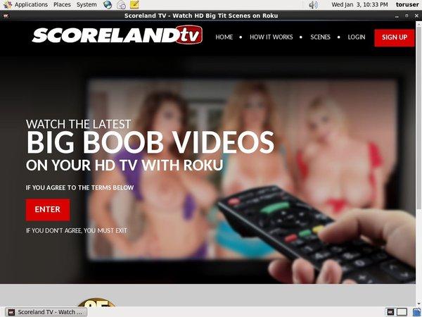 Free Scoreland TV Member