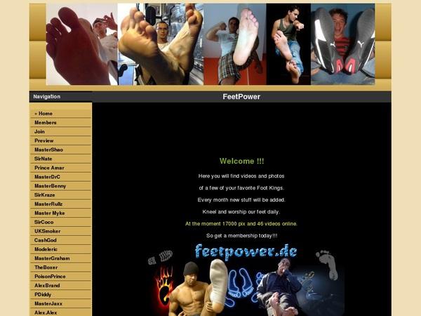 Free Feetpower.de Trial Deal