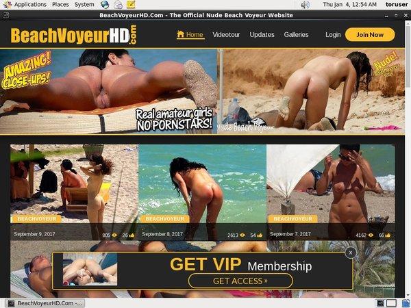 Beach Voyeur HD Credits